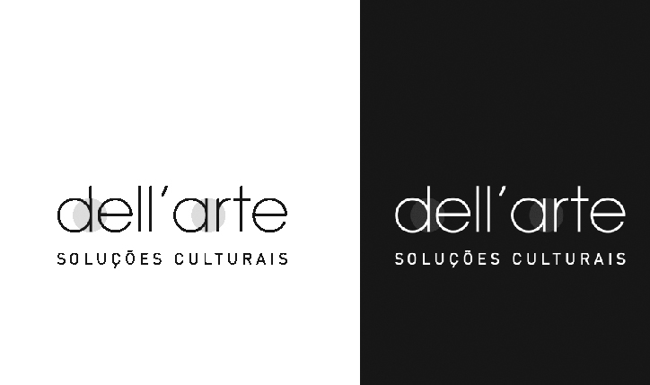 <p>cliente // DellArte Soluções Culturais</p> <p>criação de logomarca e identidade visual</p>