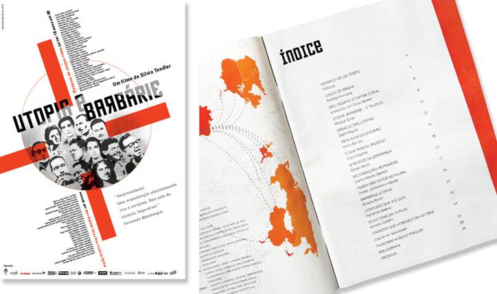 <p>cliente// Caliban Produções Ltda. - Silvio Tendler<br />designer// Christiane Krämer e Ruth Freihof</p> <p>o que é// Revista, Cartaz, Capa de DVD e Banner para o filme documentário</p>