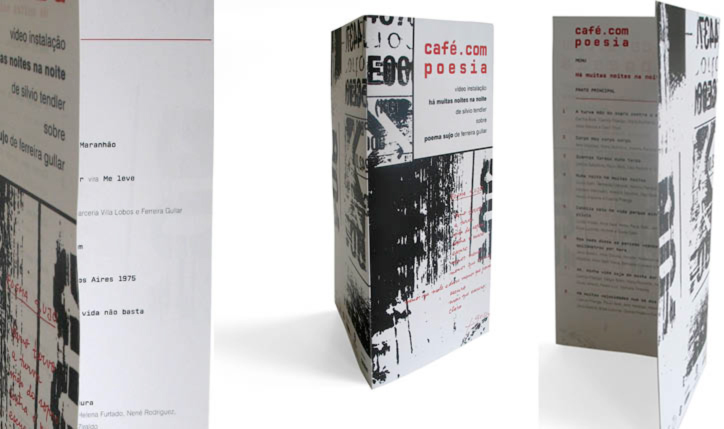 <p>cliente// Caliban</p> <p>video instalação de Silvio Tendler// Oi Futuro - Ipanema</p> <p>designer// Ruth Freihof e Christiane Krämer</p> <p></p>